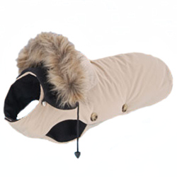 Dog Coat - Beige