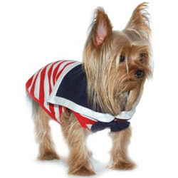 SAILOR WITH BOW TIE - RED STRIPES (DOGO)