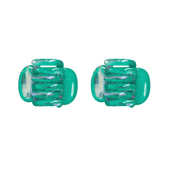 CLAW CLIPS - GREEN - 2-PACK ()
