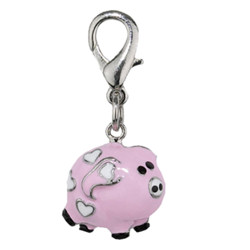 PIG CHARM - PINK (Aria)