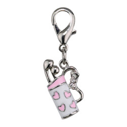 GOLF BAG CHARM - PINK (Aria)