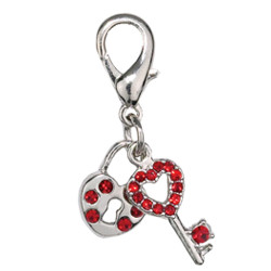 Key to Heart Charm