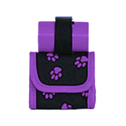 MINI BAG/POOP BAGS HOLDER - PURPLE ()