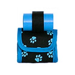 MINI BAG/POOP BAGS HOLDER - BLUE ()