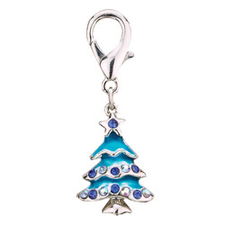 Charm Christmas Tree - Blue