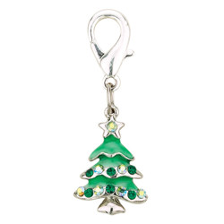 CHARM CHRISTMAS TREE - GREEN (Aria)