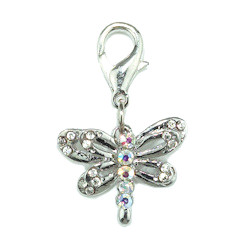 DRAGON FLY CHARM - CLEAR (Aria)