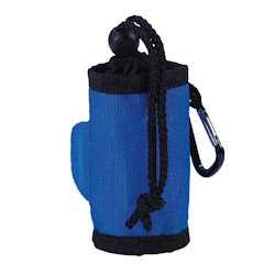 POOP BAGS HOLDER - ROYAL BLUE ()
