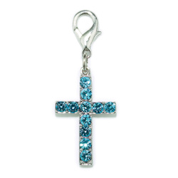 CHARM CROSS - BLUE (Aria)