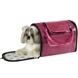 Croco Carrier Fancy - Hot Pink