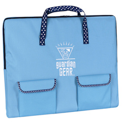 Cage with Polka Dots - Blue