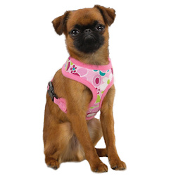 MODERN PRINT HARNESS - PINK (Casual Canine)