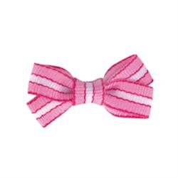 Pretty in Pink Bows - Stripe