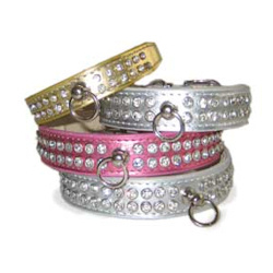 CELEBRITY STYLE COLLAR- PINK (DOGO)