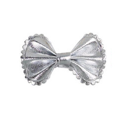 METALLIC BOW - SILVER (Aria)