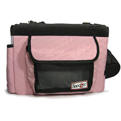 PET BIKE BASKET - PINK (Snoozer)