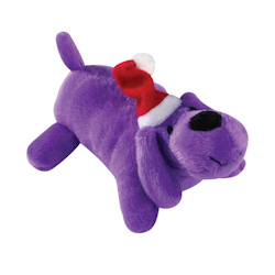 Santa Puppy - Purple
