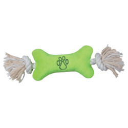 Allround Toy - Rope Bone - Lime