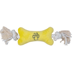 Allround Toy - Rope Bone - Yellow