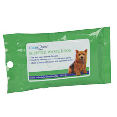 SCENTER POOP BAGS - EUCALYPTUS (ClearQuest)