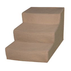 Dog Stairs - Cream / Beige - Large