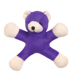 JUMPING JACK BEAR - PURPLE (Grriggles)