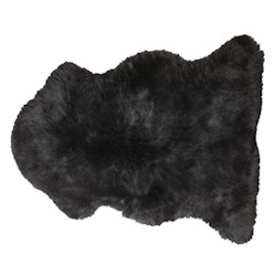Cozy Mini Lamb Skin - Black