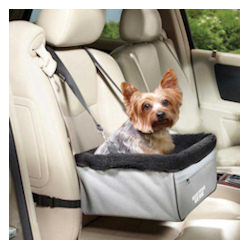 CAR BOOSTER LOCKOUT SEAT - GREY/BLACK ()