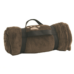 Blanket Paw with handle - Brown