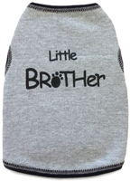 LITTLE BROTHER TANK - GREY (ISS)