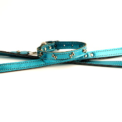 Metallic Leash - Blue