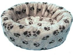 ROUND PAW BED - SMALL ()