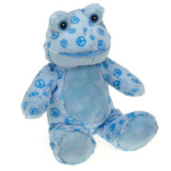 Plush Ribbit - Blue