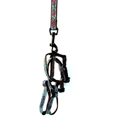 PUPPY COLLAR & HARNESS & LEASH SET ()