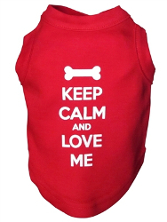 KEEP CALM TANK (Pet Boutique)