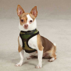 CAMO HARNESS (Casual Canine)