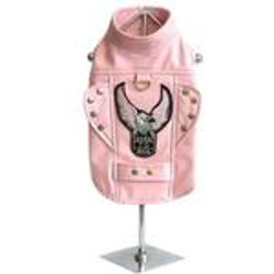 Born to Ride Motorcycle Jacket - Pink