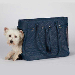 Quiltet Carrier - Navy Blue