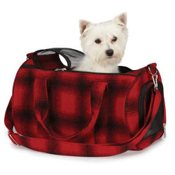 Buffalo Plaid Pet Carrier