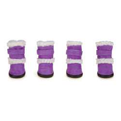 Sherpa Boots - Purple