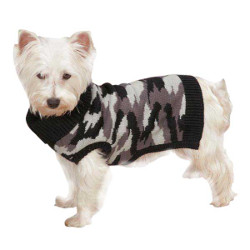 Camo Sweater - Black
