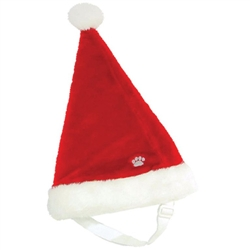 SANTA PAW HAT  (Plush Puppies)