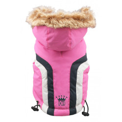 SWISS ALPINE SKI VEST - PINK (Hip Doggie)