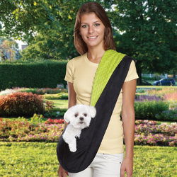 Sling Carrier - Green & Black