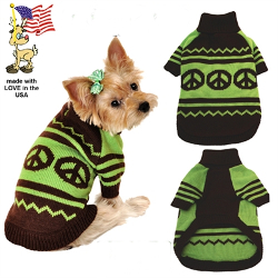 Peace Sweater - Green