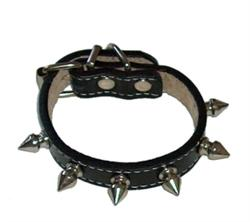 Cool Spikes Collar - Black