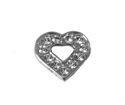 CHARM - SILVER HEART (Pet Boutique)