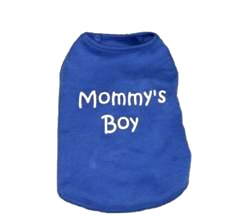 MOMMYS BOY - TANK (Pet Boutique)