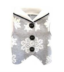 CHRISTMAS VEST - SNOWFLAKE (ISS)