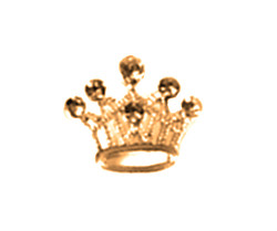 CHARM - GOLD CROWN (Le Chien)
